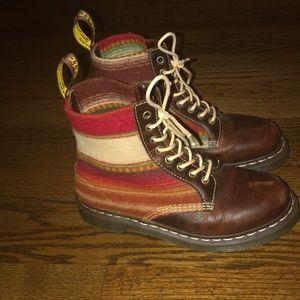 Doc Marten x Pendleton shoes